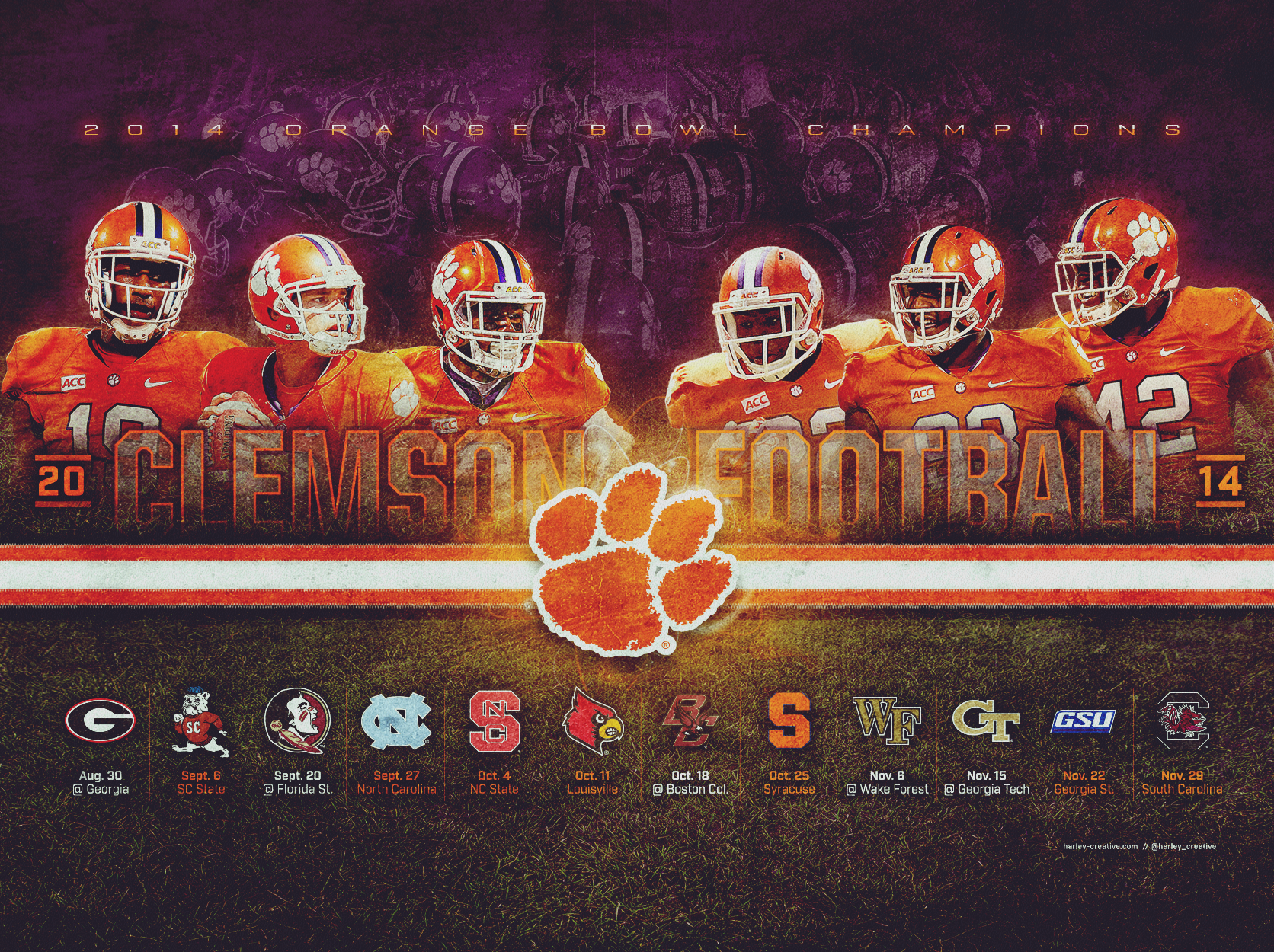 Clemson Football Wallpapers 2017 2018 Best Cars Reviews